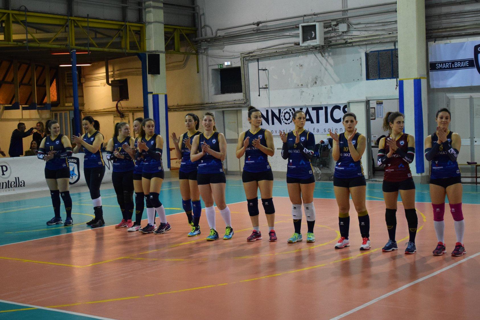 Salerno Guiscards vs Scintille Volley Cava 1