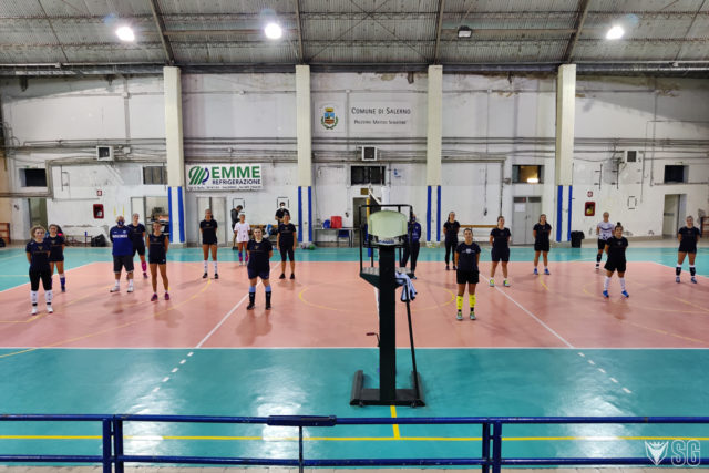 Il team volley riparte, Verdoliva: «Finalmente torniamo in palestra»