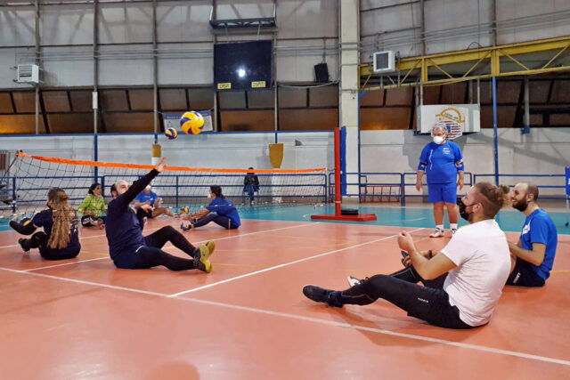 Al via il campionato maschile di Sitting Volley