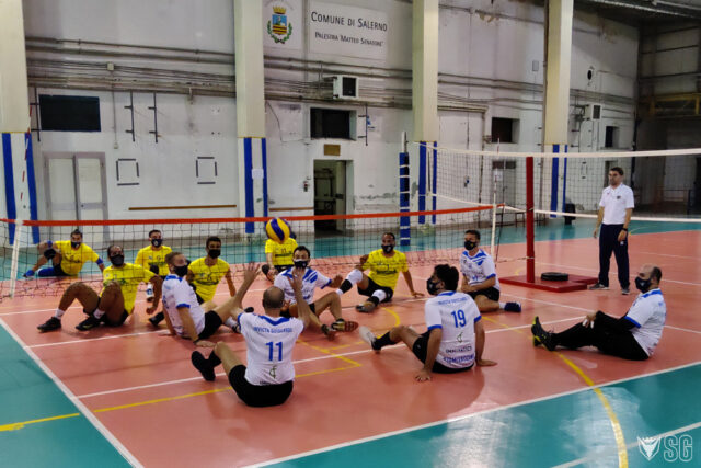 Invicta Guiscards – UP Tech Volley: vincono i casertani, ma alla Senatore trionfa lo sport