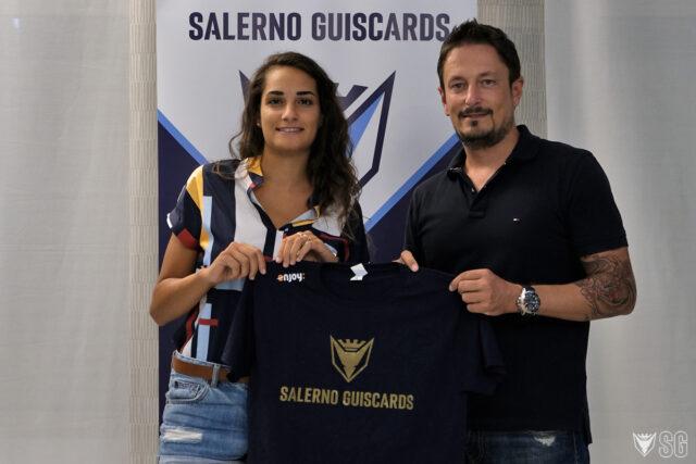 GLS Salerno Guiscards, ufficializzato l'arrivo di Anna Grimaldi